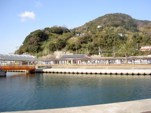 沼島汽船の乗船場 (南あわじ市灘土生)
