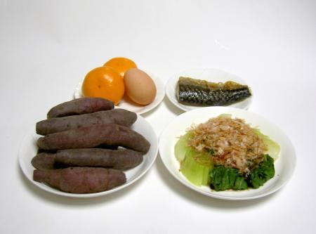 瀬戸内海島嶼人の主食はサツマイモ