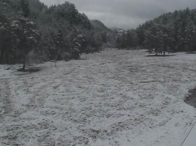 徳島県三好市ライブカメラ 2014年12月04日午後2時 黒澤湿原