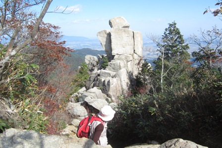 御在所山登山 (3)