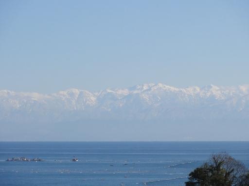 ひみのはなから見る立山連峰-1