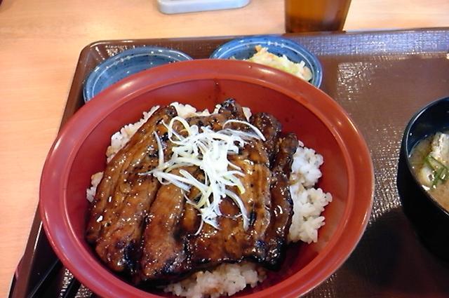 豚かばやき丼