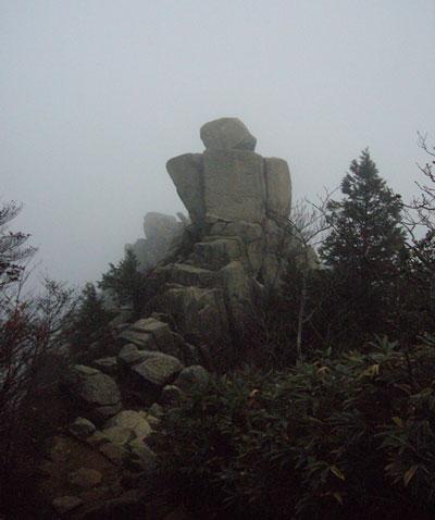御在所岳(標高1212m)|三重県|2011/11/05|山ガール|登山|日帰り