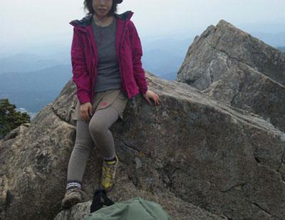 小秀山(標高1981.7m)|岐阜県|2012/04/29|山ガール|登山|日帰り