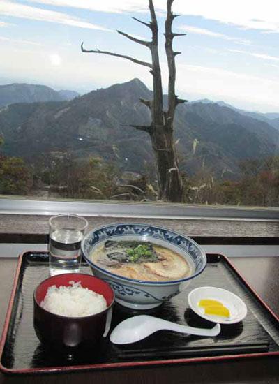 御在所岳|レストラン(標高1160m)|三重県|【武平峠(977m)|分岐点】から【御在所岳】へ