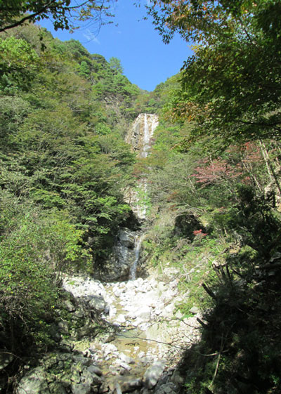 釈迦ヶ岳(標高1092m)|三重県|2012/10/20|鈴鹿セブンマウンテン|庵座谷(あんざたに)ルート