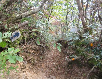釈迦ヶ岳(標高1092m)|三重県|2012/10/20|鈴鹿セブンマウンテン|中尾根ルート