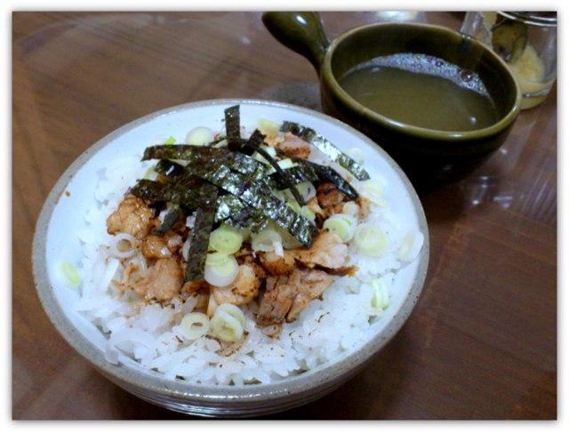 弘前 ラーメン 中華そば たく味 和風中華 チャーシュー飯