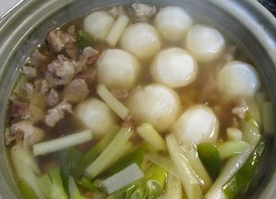 カブと牛筋のスープはおいしかった♪