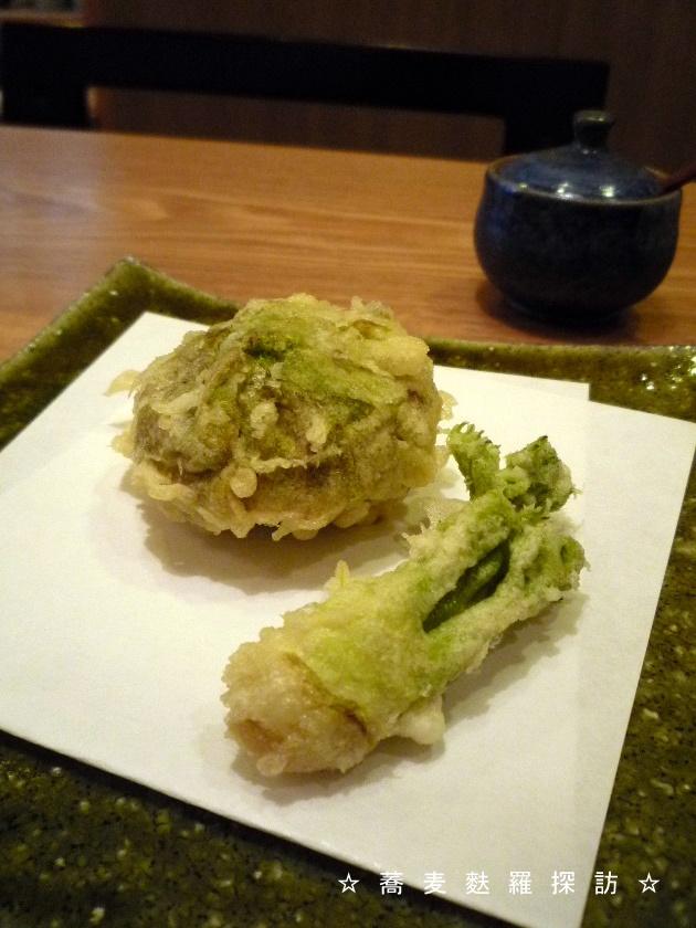 14.本郷 蕎麦切 森の (たらの芽&フキノトウ)