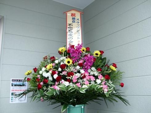 お祝いの花束、ありがとうございます!