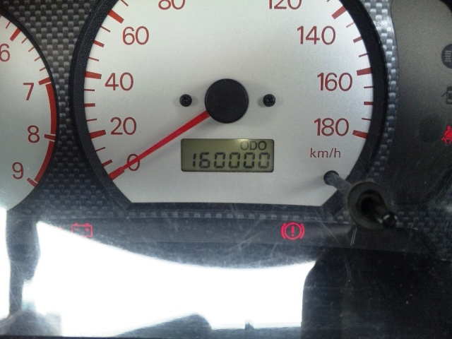 16万キロ!