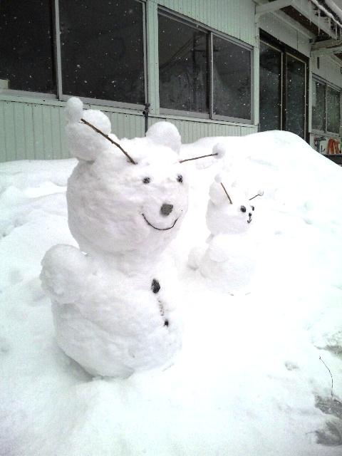 """雪だるま""""兄"""""""