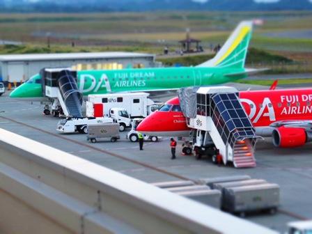 富士山静岡空港 FDA機