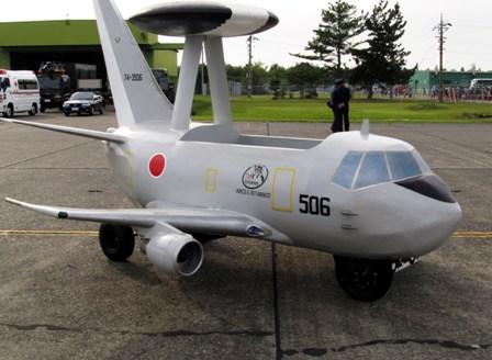 航空自衛隊浜松基地 「E-767原付」