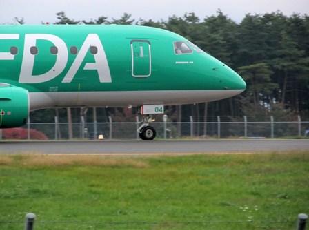 FDA4号機(緑)