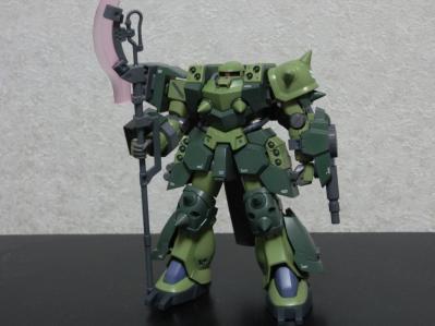 スーパーカスタムザクF2000 01