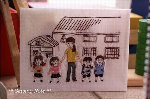 幼稚園 刺繍