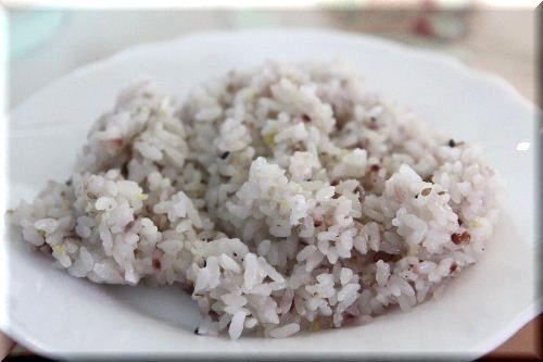 十六穀米♪
