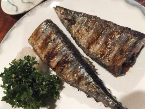 秋刀魚の塩焼き♪