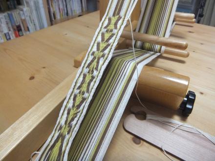インクルルームで織り織り