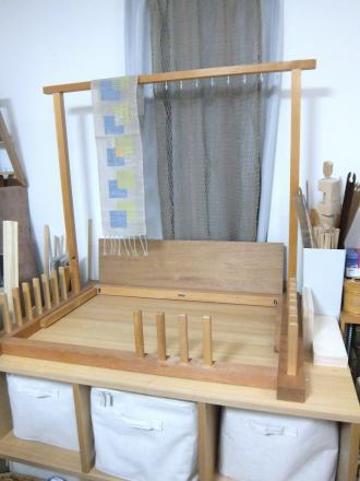 織り部屋の一角
