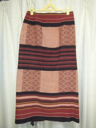 ナガの布のスカート