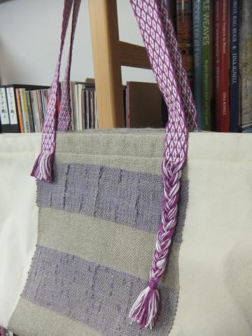 カード織りの持ち手のバッグ、2つ目