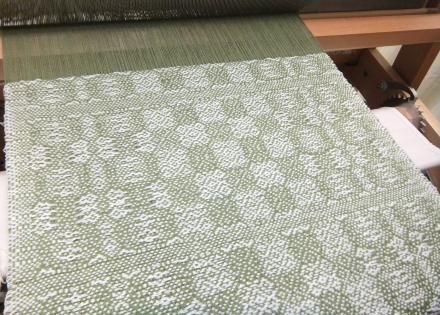 6枚綜絖変化綾織り・マイパターン1