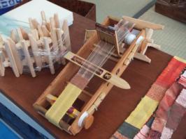 2011クラフトフェア蒲郡 ちっちゃな織り機!