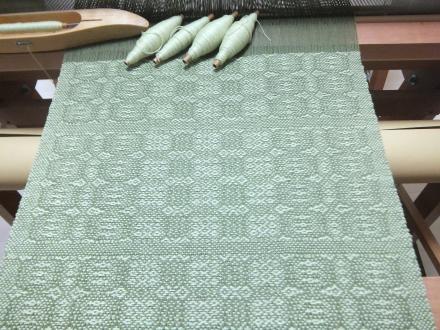 6枚綜絖変化綾織り 3枚目