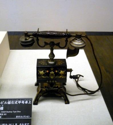 江戸東京博物館-電話