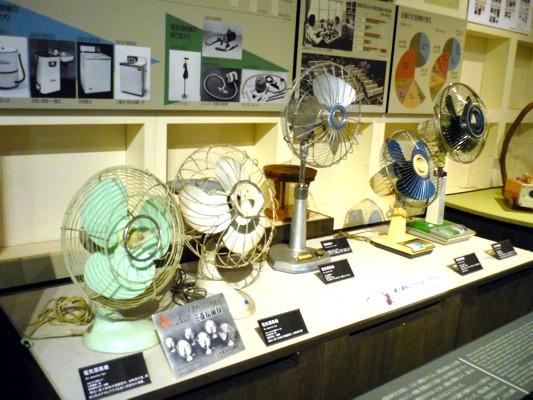 江戸東京博物館-扇風機