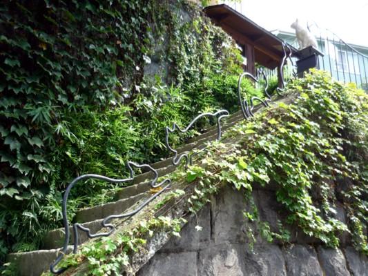 猫町ギャラリー階段その2