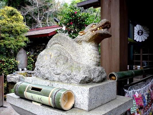 神宝神社-地竜