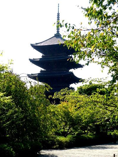 東寺-五重塔その1