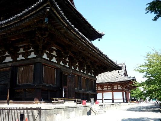 東寺-金堂と講堂