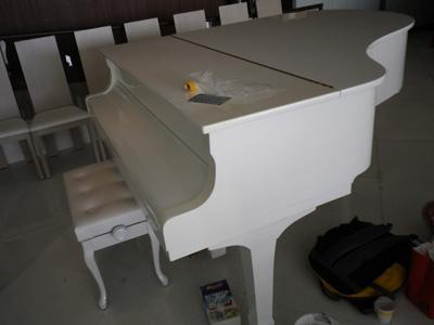 ピアノ完成
