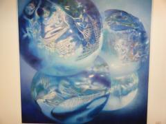ヒプノセラピー スピリチュアルライフ KIAF2010 COEX 彫刻 プリント画 写真 メディア プレビュー ギャラリーエデル