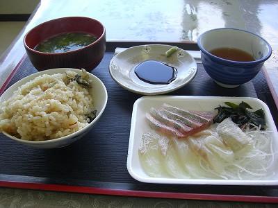 s-11:55刺身定食