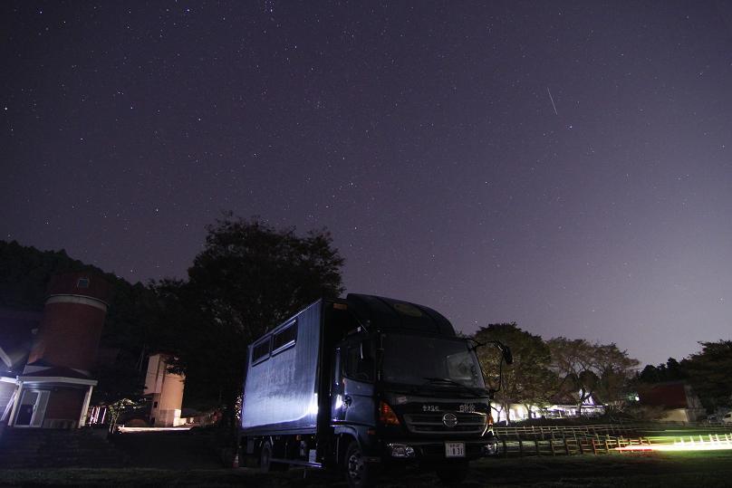 20121021北の空と流星-1a