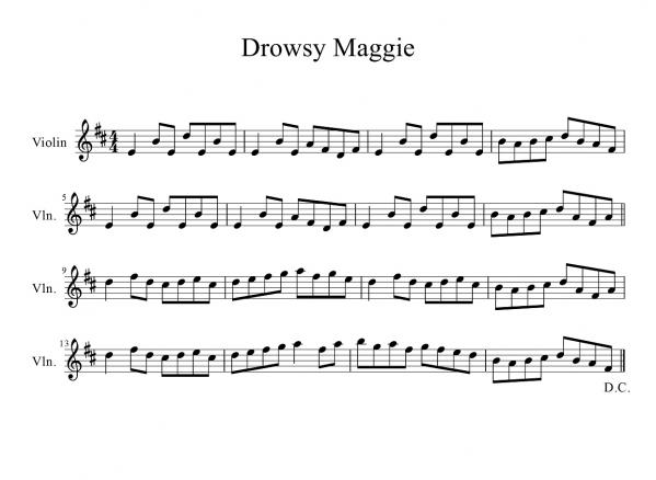 Drowsy Maggie-1