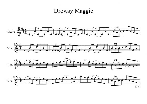 Drowsy Maggie(with Ornament)-1