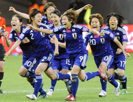 20110718なでしこ優勝!