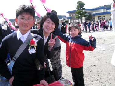 大輔卒業式