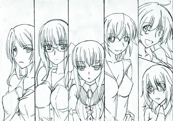 鴇桜華 - クール素直な彼女に振り回される普通の生活 のコピー
