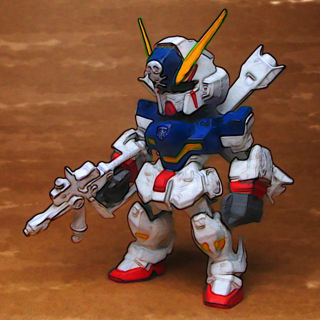 クロスボーンガンダム X-1 その1