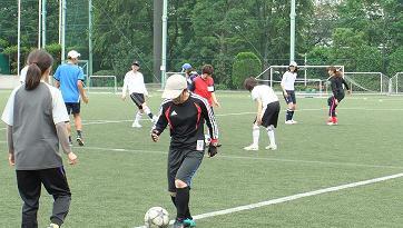 女性サッカー3