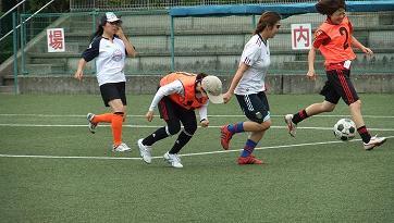 女性サッカー4