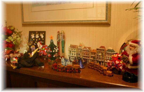 玄関クリスマス1